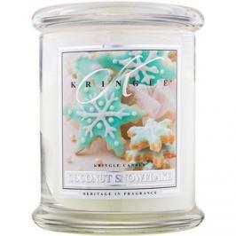 Kringle Candle Coconut Snowflake vonná svíčka 411 g vonná svíčka