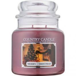 Kringle Candle Country Candle Merry Christmas vonná svíčka 453 g vonná svíčka