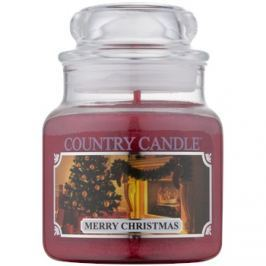 Kringle Candle Country Candle Merry Christmas vonná svíčka 104 g
