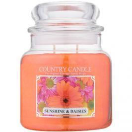 Kringle Candle Country Candle Sunshine & Daisies vonná svíčka 453 g vonná svíčka