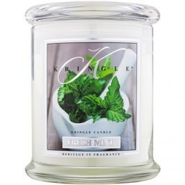 Kringle Candle Fresh Mint vonná svíčka 411 g vonná svíčka
