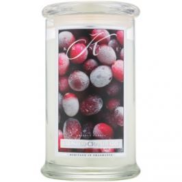 Kringle Candle Frosted Cranberry vonná svíčka 624 g