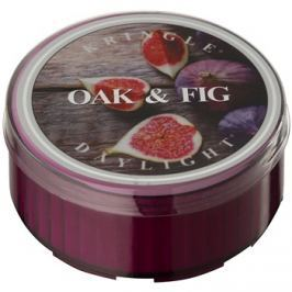 Kringle Candle Oak & Fig čajová svíčka 35 g