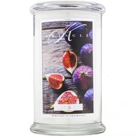 Kringle Candle Oak & Fig vonná svíčka 624 g