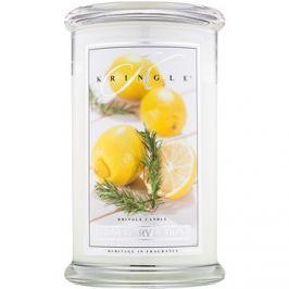 Kringle Candle Rosemary Lemon vonná svíčka 624 g vonná svíčka