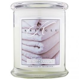 Kringle Candle Warm Cotton vonná svíčka 411 g