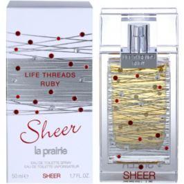 La Prairie Life Threads Sheer Ruby toaletní voda pro ženy 50 ml toaletní voda