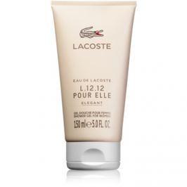 Lacoste Eau de Lacoste L.12.12 Pour Elle Elegant sprchový gel pro ženy 150 ml sprchový gel