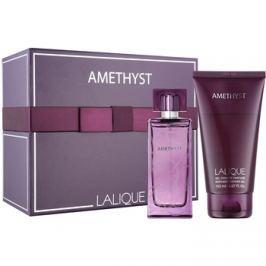Lalique Amethyst dárková sada V. parfémovaná voda 100 ml + sprchový gel 150 ml dárková sada