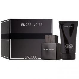 Lalique Encre Noire for Men dárková sada  toaletní voda 100 ml + sprchový gel 150 ml