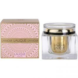 Lalique L´Amour tělový krém pro ženy 200 ml tělový krém