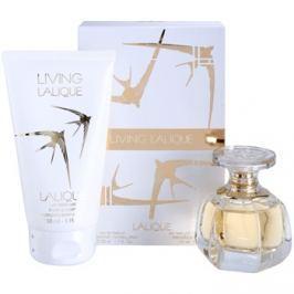 Lalique Living Lalique dárková sada  parfémovaná voda 50 ml + tělové mléko 150 ml