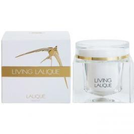 Lalique Living Lalique tělový krém pro ženy 200 ml