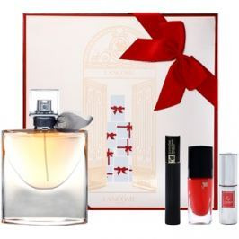 Lancôme La Vie Est Belle dárková sada VIII. parfémovaná voda 50 ml + řasenka 2 ml + rtěnka 3 ml + lak na nehty 6 ml dárková sada