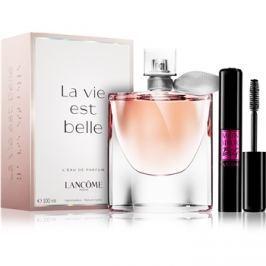 Lancôme La Vie Est Belle dárková sada – výhodné balení  parfémovaná voda 100 ml + řasenka 10 ml dárková sada