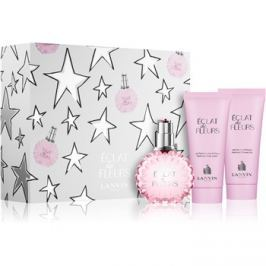 Lanvin Éclat de Fleurs dárková sada II. parfémovaná voda 100 ml + tělový krém 100 ml + sprchový gel 100 ml