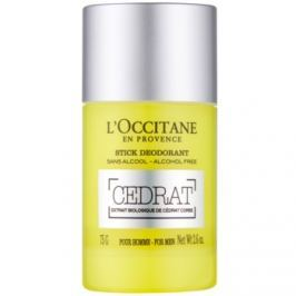 L'Occitane Cedrat deodorant roll-on pro muže 75 g on