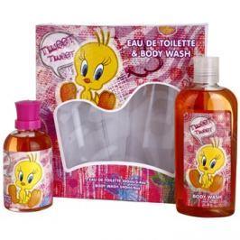 Looney Tunes Tweet Tweet dárková sada I. toaletní voda 100 ml + sprchový gel 240 ml dárková sada