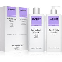 Marbert Bath & Body Classic dárková sada II.  sprchový gel 400 ml + tělové mléko 400 ml dárková sada