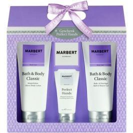 Marbert Bath & Body Classic dárková sada III.  sprchový a koupelový gel 200 ml + krém na ruce 50 ml + tělové mléko 200 ml