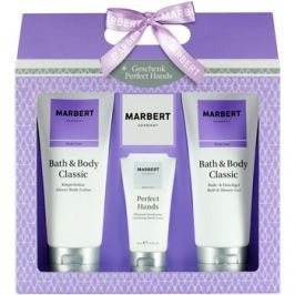 Marbert Bath & Body Classic dárková sada III.  sprchový a koupelový gel 200 ml + krém na ruce 50 ml + tělové mléko 200 ml dárková sada