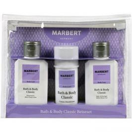 Marbert Bath & Body Classic dárková sada IV.  sprchový a koupelový gel 100 ml + deostick 40 ml + tělové mléko 100 ml dárková sada