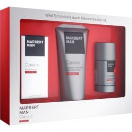 Marbert Man Classic Sport dárková sada I.  toaletní voda 50 ml + sprchový gel 200 ml + deostick 75 ml