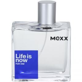 Mexx Life is Now for Him toaletní voda pro muže 75 ml