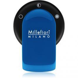 Millefiori GO držák na vůni do auta   s náplní Azzurro (Sandalo Bergamotto)