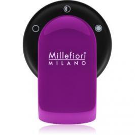 Millefiori GO držák na vůni do auta   s náplní Viola (Sandalo Bergamotto)