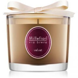 Millefiori Via Brera Velvet vonná svíčka 180 g