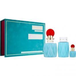 Miu Miu Miu Miu dárková sada II.  parfémovaná voda 100 ml + parfémovaná voda 7,5 ml + tělové mléko 100 ml
