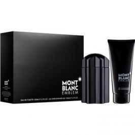 Montblanc Emblem dárková sada VI.  toaletní voda 100 ml + sprchový gel 100 ml