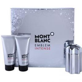 Montblanc Emblem Intense dárková sada I. toaletní voda 100 ml + balzám po holení 100 ml + sprchový gel 100 ml