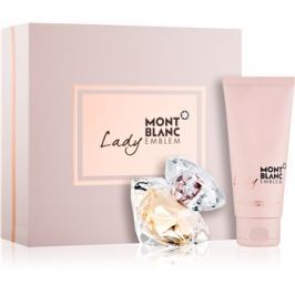 Montblanc Lady Emblem dárková sada IV.  parfémovaná voda 50 ml + tělové mléko 100 ml