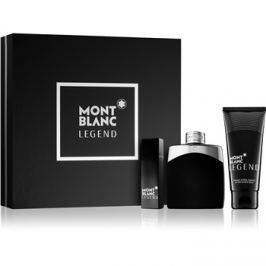 Montblanc Legend dárková sada I.  toaletní voda 100 ml + 15 ml + balzám po holení 100 ml