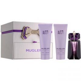 Mugler Alien dárková sada XIII.  parfémovaná voda 60 ml + tělové mléko 100 ml + sprchový gel 100 ml