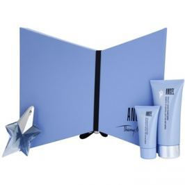 Mugler Angel dárková sada XVI. parfémovaná voda plnitelná 25 ml + tělové mléko 100 ml + sprchový gel 30 ml