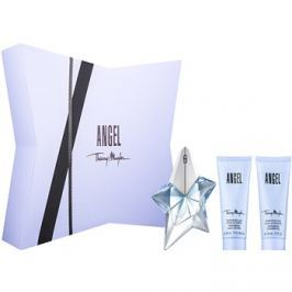 Mugler Angel dárková sada XXXI.  parfémovaná voda 25 ml + tělové mléko 50 ml + sprchový gel 50 ml
