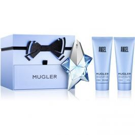 Mugler Angel dárková sada XXXIII.  parfémovaná voda 50 ml + tělové mléko 100 ml + sprchový gel 100 ml