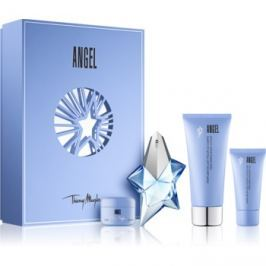 Mugler Angel dárková sada XXV.  parfémovaná voda 25 ml + tělové mléko 100 ml + 15 ml + sprchový gel 30 ml