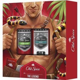 Old Spice Legend dárková sada II.  deodorant ve spreji 150 ml + sprchový gel 250 ml