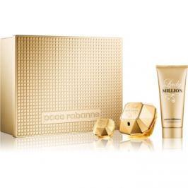 Paco Rabanne Lady Million dárková sada VIII.  parfémovaná voda 80 ml + tělové mléko 100 ml + parfémovaná voda 5 ml