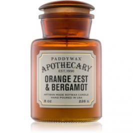 Paddywax Apothecary Orange Zest & Bergamot vonná svíčka 226 g