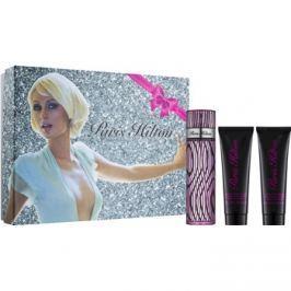 Paris Hilton Paris Hilton dárková sada VIII.  sprchový a koupelový krém 90 ml + parfémovaná voda 100 ml + třpytivé tělové mléko 90 ml