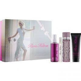 Paris Hilton Paris Hilton dárková sada VII.  parfémovaná voda 100 ml + parfémovaná voda 10 ml + tělový sprej 118 ml + třpytivé tělové mléko 90 ml