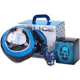 Police To Be dárková sada I. toaletní voda 125 ml + fotbalový míč