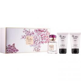 Pomellato Nudo Rose dárková sada  parfémovaná voda 25 ml + tělové mléko 30 ml + sprchový gel 30 ml