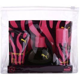 Puma Animagical Woman dárková sada I. deodorant s rozprašovačem 50 ml + toaletní voda 40 ml + sprchový gel 50 ml