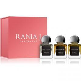 Rania J. Priveé Émeraude Collection dárková sada V.  parfémovaná voda 3 x 5 ml
